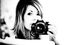 letting my camera speak for me (-stacey-) Tags: selfportrait sixwordstory meandmycamera wwwstaceykinkaidcom