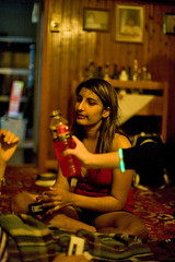 Gianna, powerade, glowstick