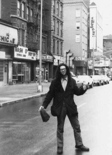 Village East cinema, 1977.