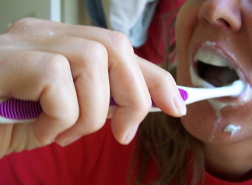 Toothbrush meme