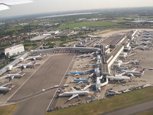 Part of London Heathrow Airport