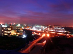 view of outer ring road, Bangalore