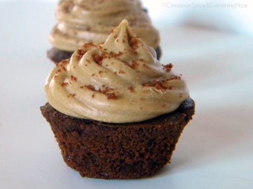 Chocolate Caramel Filled Cupcakes