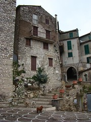 Rocca Canterano-02 (pouryanazemi) Tags: italy loveit contact historicalplaces hiddentreasure