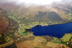 Lochearnhead (Vic Sharp) Tags: uk nature landscape scotland town nikon britain flight perthshire aerial hills gb d80 johnsharp lochfields sharpy70