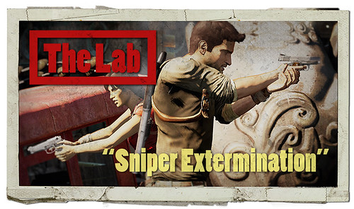 """UNCHARTED 2: The Lab """"Sniper Extermination"""" for PS3"""