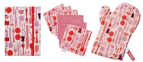 Livro Culinário ViVá + Coasters & Luva Ternurinhas