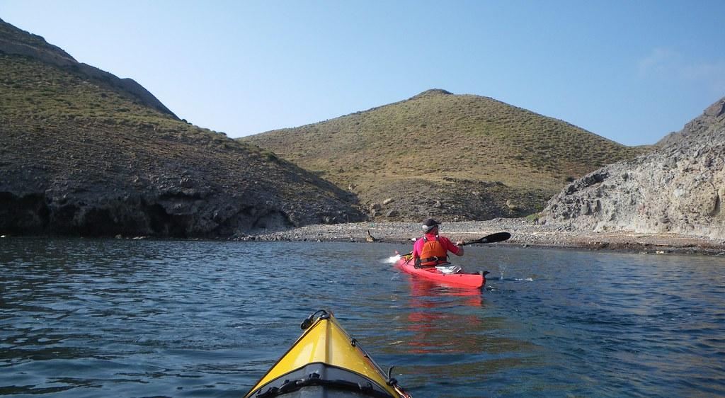 Cabo de Gata en kayak 334