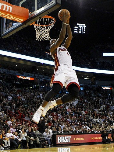lebron james miami heat dunk. Lebron James Dunk Sequence (3)
