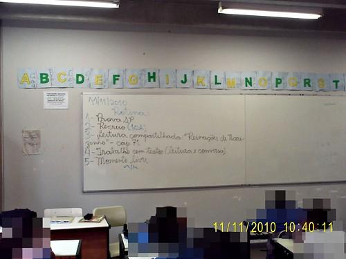 Rotina (11/11/2010) - dificuldades em cumprir (todos exaustos após a Prova SP)