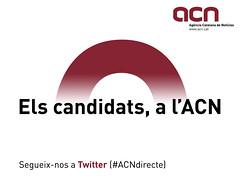 Els candidats a l'ACN