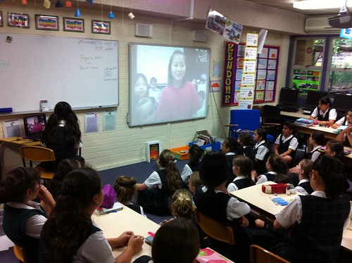 Skype call between PLC Sydney and Yokoha by Betchaboy, on Flickr