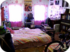 my room (indielove) Tags: me bedroom colorful room polkadots photo365