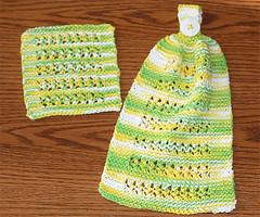 kitchensetswap (Kat-Star) Tags: kitchen handmade knit dishcloth cotton