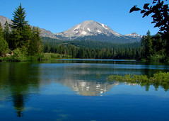 Lassen Volcanic National Park (StevenLPierce) Tags: california park lake mountains reflection outdoors volcano parks national nationalparks lassen manzanita lassenvolcanicnationalpark lassenpeak