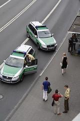 Polizei (craigowaffles) Tags: germany deutschland nw north nrw muenster mnster 2007 westfalen nordrhein westphalia rhinewestphalia