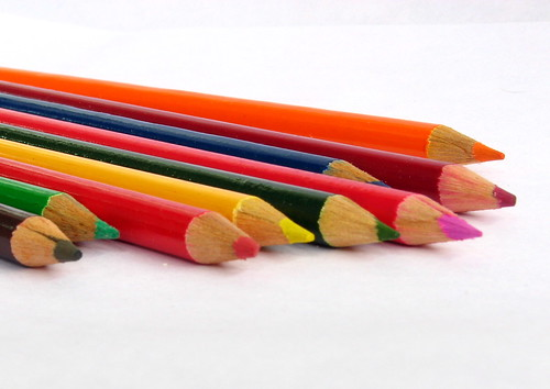 Colour Pencils by Bhaskar Dutta.