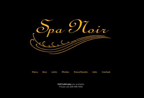 Spa Noir
