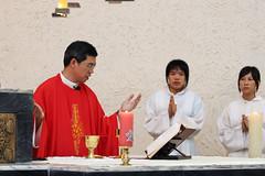 Wedding of College Schoolmate (*Yueh-Hua 2016) Tags: catholic taiwan l catholicchurch    taipeicounty    canonef70200mmf4lisusm is  l  2007august   sindiancity anchichang collegeschoolmate