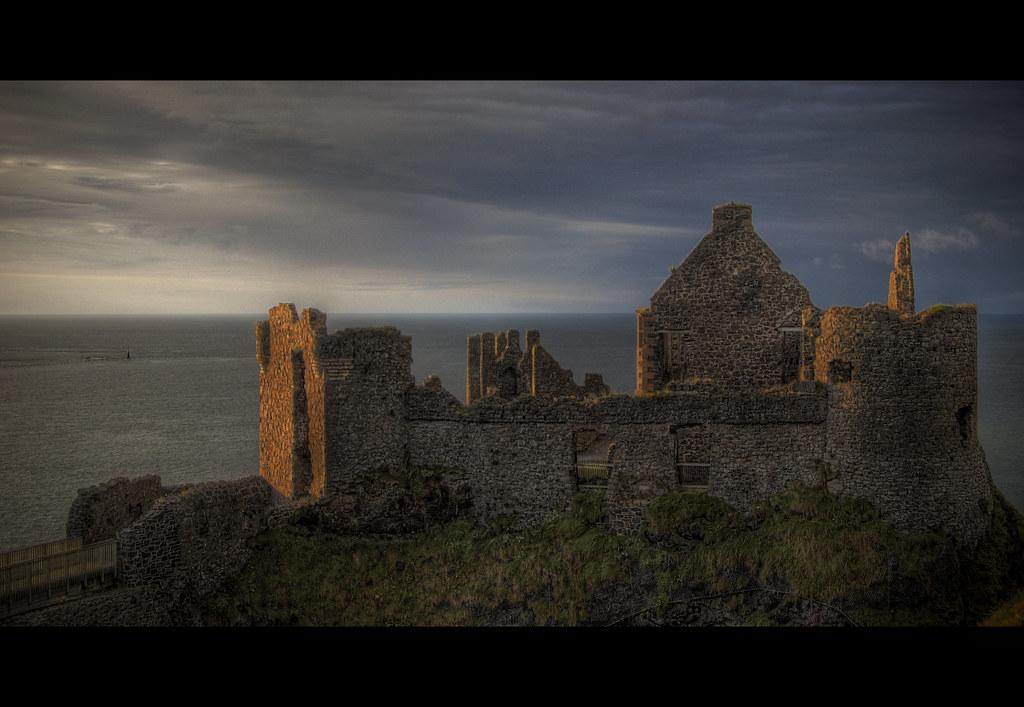 Dunluce Castle.
