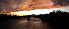 Reddingsunset.10.07 (tgstewart1) Tags: sacramentoriver reddingca beautifulsunset sundialbridgeatturtlebay