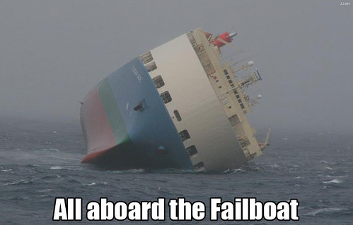 The Fail Boat by Certified.