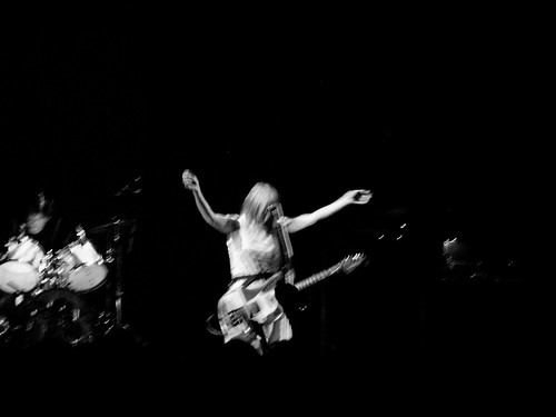 Kim Gordon in motion