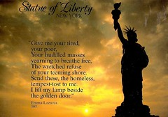 U.S. Statue Of Liberty New York City - Jewish Poem  Lazarus scan0405 (stephaniecomfort) Tags: newyork us jewish statueofliberty miscellaneous emmalazarus