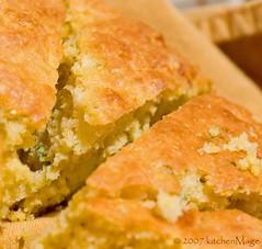 kitchenMage's Feta Chive Cornbread