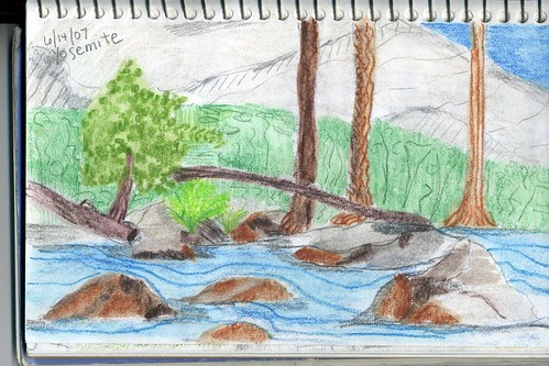nature journal watercolor