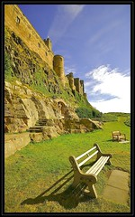 An English Man's Home Is His Castle! (Nala Rewop) Tags: blue sky castle english home seat northumberland bamburgh bamburghcastle abigfave anawesomeshot ultimateshot goldenphotographer favemegroup3 favemegroup6 diamondclassphotographer