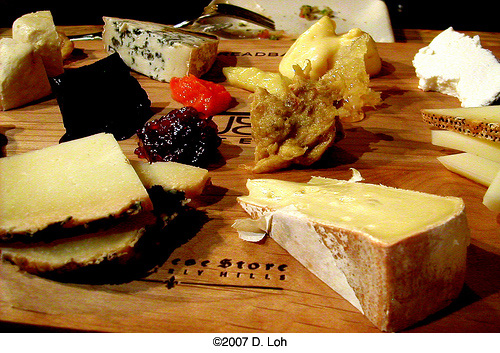framboise cheeseboard