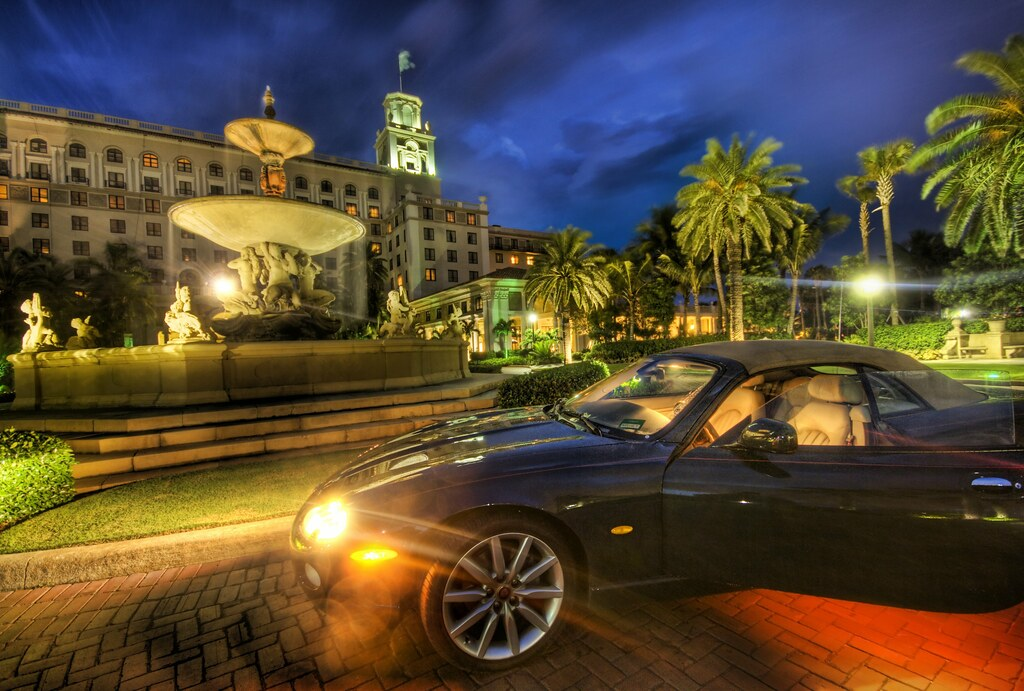 The Jag at the Breakers