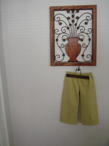 kids clothes week: frog & toad pants