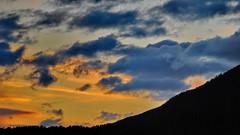 Lang hale -|- Long tail (erlingsi) Tags: sunset skyscape landscape golden norge noruega oc paysage 169  volda solnedgang puestadelsol noorwegen noreg  slarlag erlingsi erlingsivertsen slsetur tvformat sunsetazo srysta
