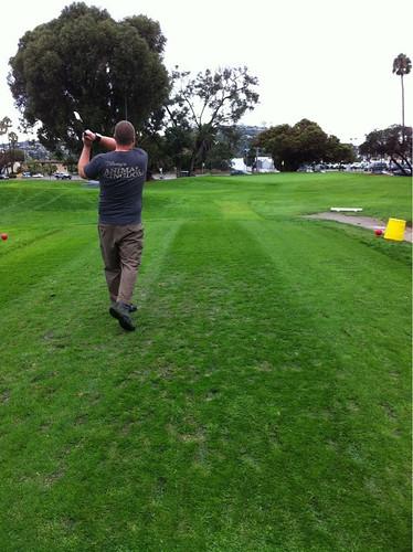 Golfing Mike
