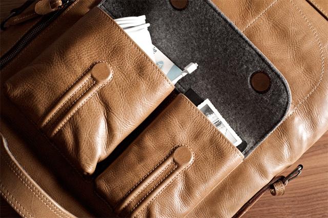 Hard Graft 2Unfold laptop bag 04