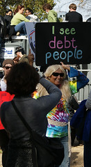 I see debt people (Stephen Little) Tags: show people signs sign mall march washingtondc dc washington costume concert districtofcolumbia jonstewart election comedy unitedstates fear political politics capital rally protest performance demonstration capitol stewart restore irony nationalmall comedian johnstewart ironic vote crowds sanity colbert dailyshow voter stephencolbert comedycentral firstamendment attendee stewartcolbert tamronaf1750mmf28 10302010 october302010 marchtokeepfearalive rallytorestoresanity keepfearalive rally4sanity rallytorestoresanityandorfear restoresanity sanityandorfear rallytorestoresanityanoffear fearalive rallyfear jstephenlittlejr
