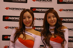 Hankook Tire Models (spdpat) Tags: vegas lasvegas sema semashow hankook carshowwomen