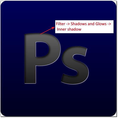 4. inner shadow n final result