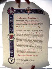 BANDA DE MÚSICA JJMM-ULE - BENDICION APOSTÓLICA
