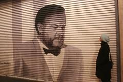 Orson Welles Mural on Hollywood Boulevard