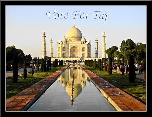 Vote for New 7 Wonders of the World : Vote for Taj Mahal