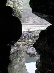 (bernbrad) Tags: cliff caves pools shore cave flamborough northlanding rockpolls