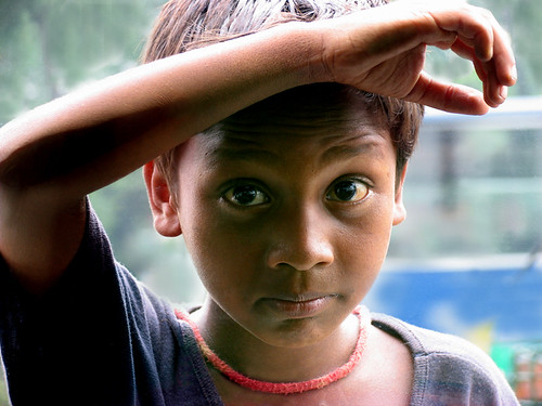 Boy thru the window, Dhaka