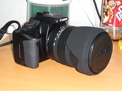 EOS with Sigma Lens