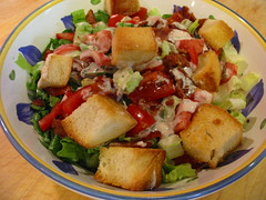 BLT Salad (jenianddean) Tags: food tomato bacon salad lettuce recipes jenianddean