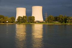 Cooling Towers (Bigod) Tags: plant tower night river power nuclear rhine rhein cooling reaktor kernkraftwerk atomkraftwerk bigod biblis