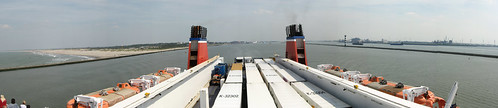 Aboard the StenaLine from Hook of Holland (The Netherlands) to Harwich (UK)