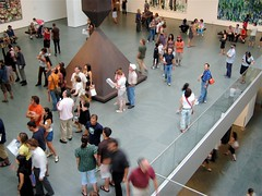 MoMA's central hall